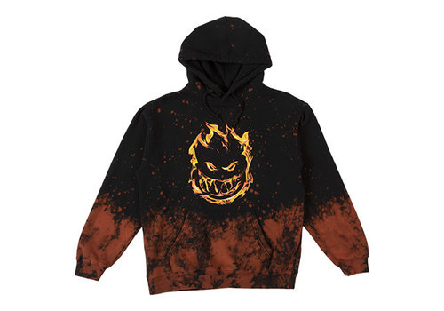 Spitfire Spitfire 451 Hooded Sweatshirt Black/Acid Splatter