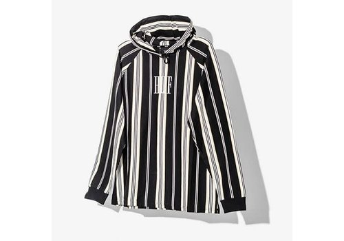HUF Huf Buren Striped Knit Hood Black