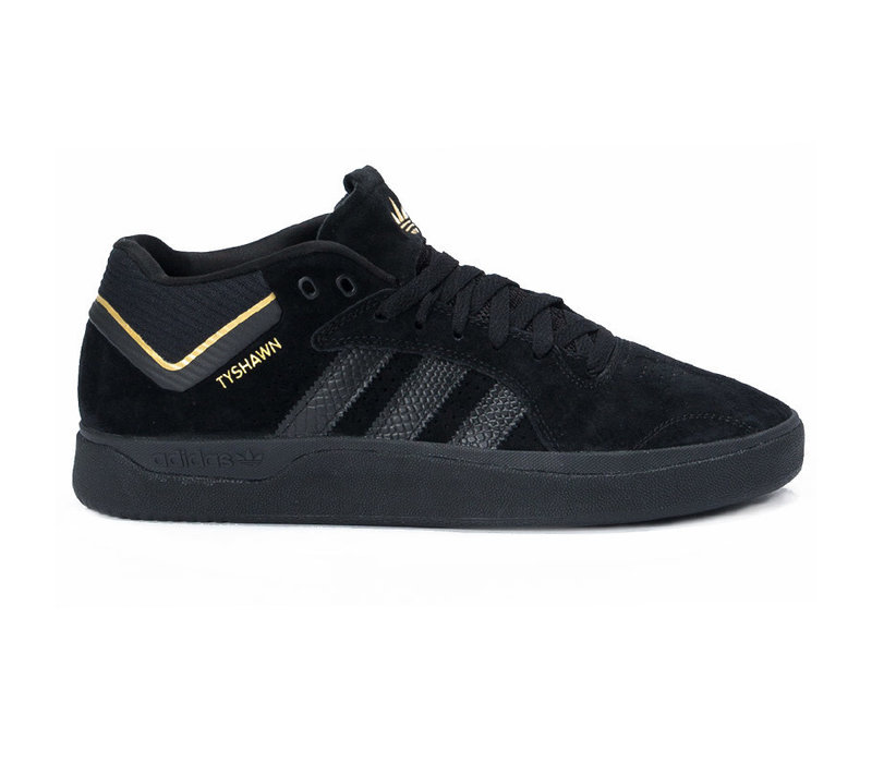 Adidas Tyshawn Black/Black/Gold EU 42.2/3 (US9)