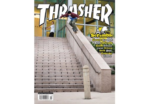 Thrasher Thrasher Magazine March 2020