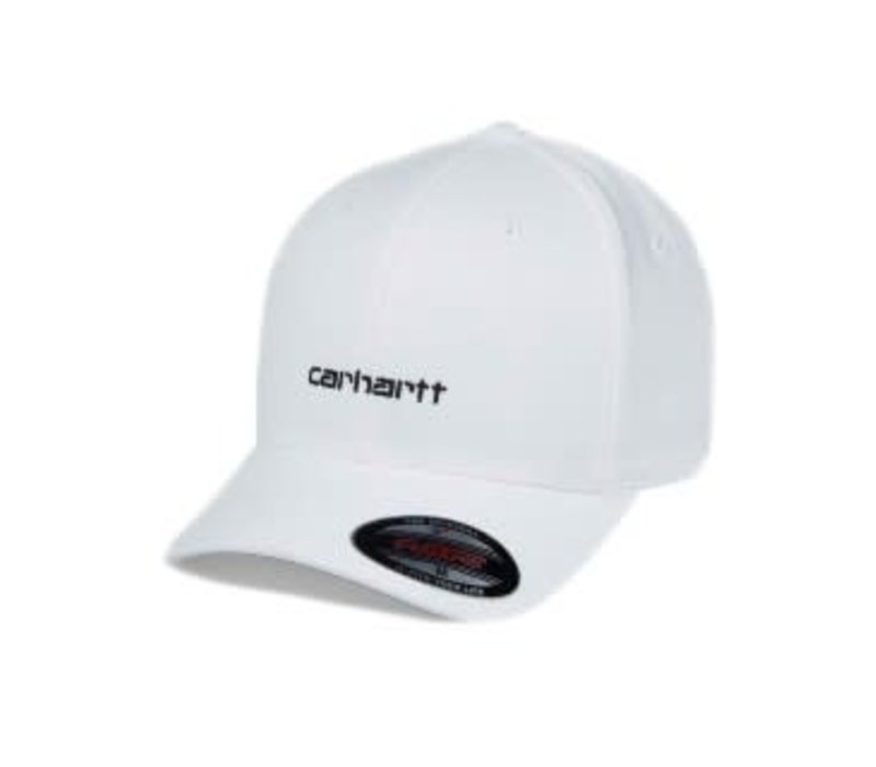 Carhartt Script Cap White