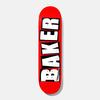 Baker Baker - Brand Logo White 7.875