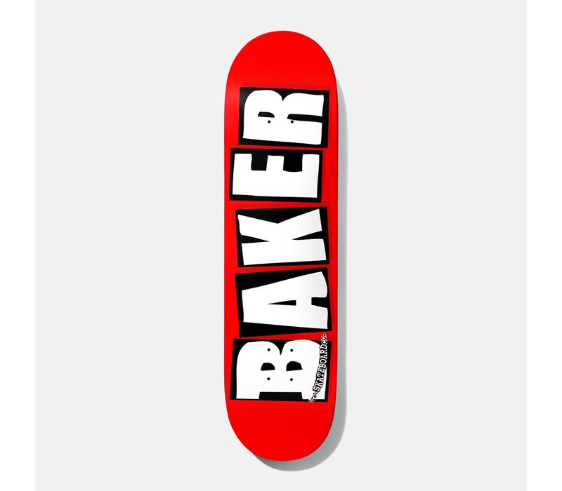 Baker - Brand Logo White 7.875