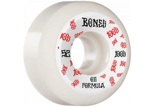 Bones Bones Wheels - V5 100's #3 OG Formula 52mm