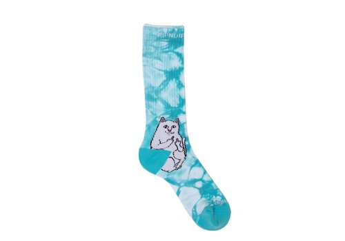 Ripndip RipnDip Lord Nermal Socks Tie Dye Baby Blue