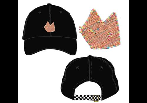 Leon Karssen Leon Karssen Rainbroidery Black Hat