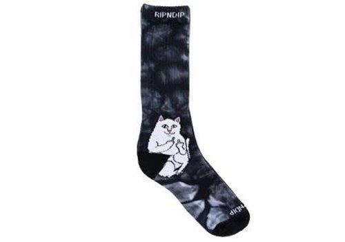 Ripndip RipnDip Lord Nermal Socks Black Tie Dye
