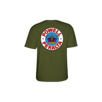 Powell Peralta - Supreme Tee - Military Green