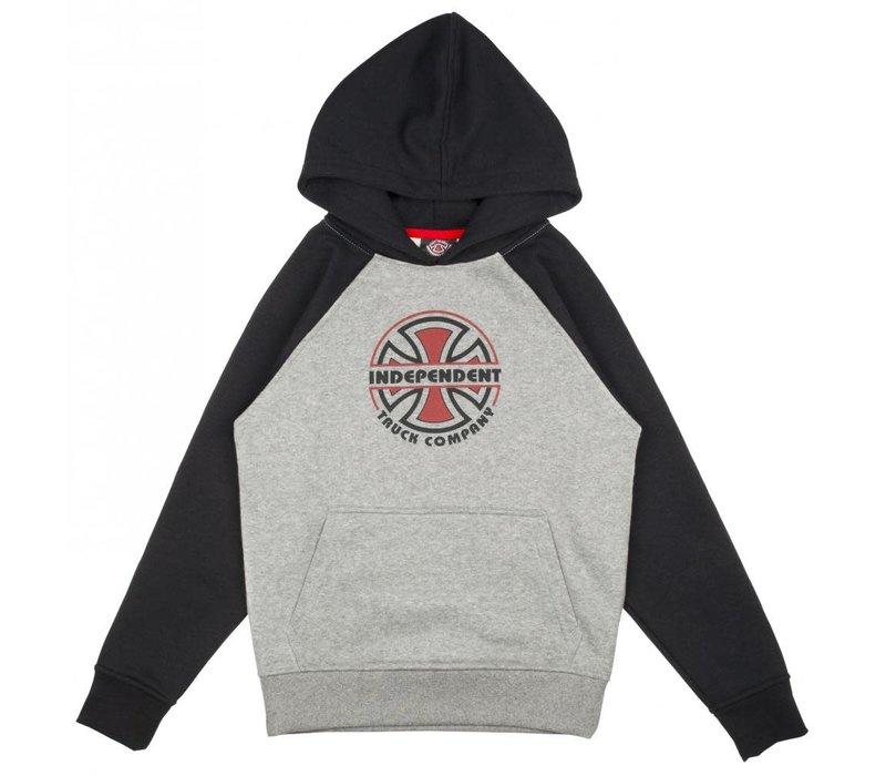 Independent Youth Bauhaus Raglan Hood Black/Grey