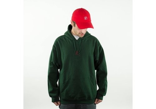 Zehma Zehma Symbol Hood Dark Green/Red