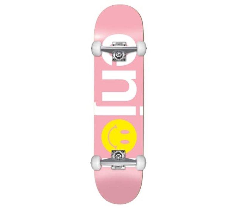 Enjoi No Brainer Smiley Complete 7.5 FP Pink