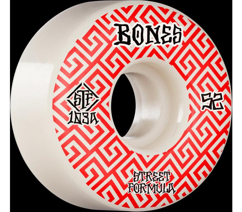 Bones Wheels STF V2 103a Locks Patterns 52mm