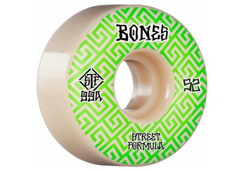 Bones Bones Wheels V2 99a Locks Green Patterns 52mm