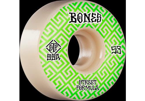 Bones Bones Wheels V2 99a Locks Green Patterns 53mm