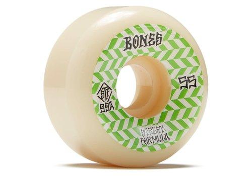 Bones Bones Wheels V5 99a Green Patterns 55mm