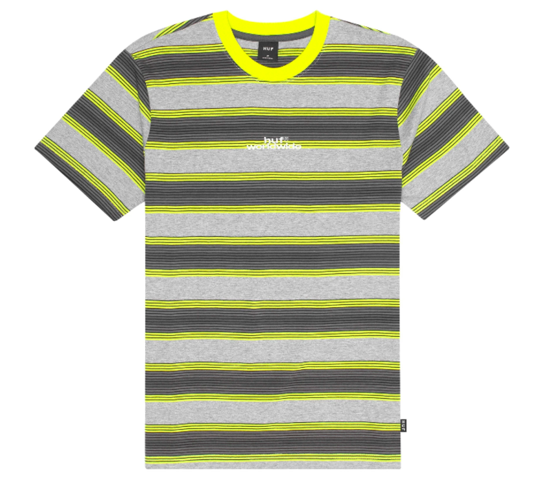 Huf Travis Knit Top Hot Lime