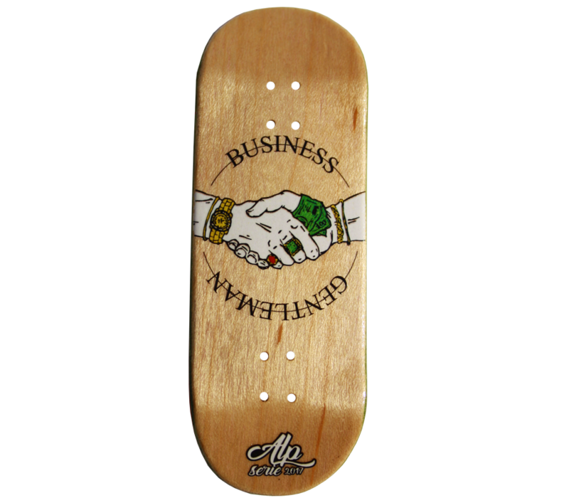 "Alp Fingerboard ""Business Gentleman"" Complete Assorted Setup"