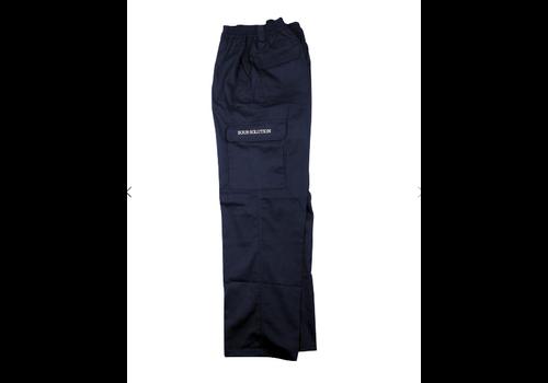 Sour Sour City Safari Cargo Pants Petrol Blue