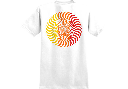 Spitfire Spitfire Youth Classic Swirl Tee White/Red