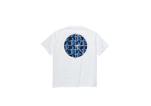 Polar Polar Klez Fill Logo Tee White Blue
