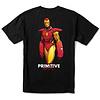 Primitive Primitive Iron Man Tee Black