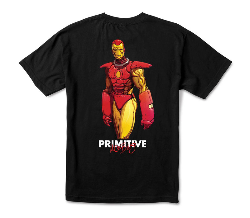 Primitive Iron Man Tee Black