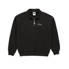 Polar Polar Collar Zip Sweatshirt Black