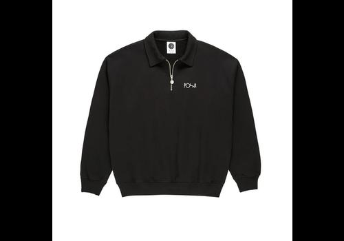 Polar Polar Collar Zip Sweatshirt Black