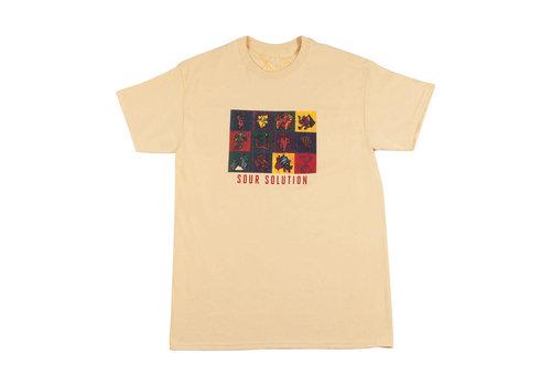 Sour Sour - LSD Tee Pastel Yellow
