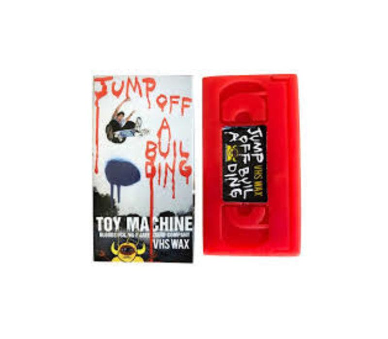 Toy Machine VHS Wax - Jump Off A Building
