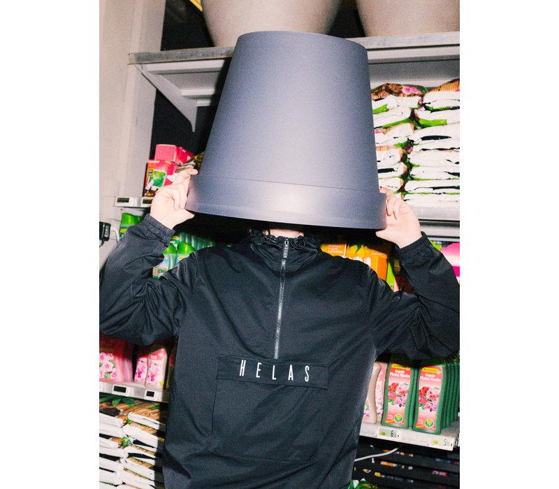Helas Gang Hooded Jacket Black