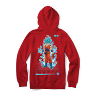Primitive DBZ Super SSG Goku Youth Hood Red