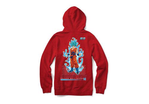 Primitive Primitive DBZ Super SSG Goku Youth Hood Red