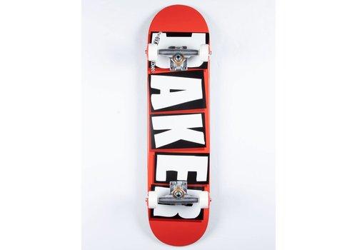 Baker Baker Brand Logo White Complete 8.0