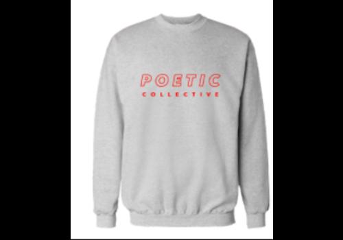 Poetic Collective Poetic Collective Sport Crew Grey