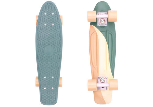 Penny Penny Swirl 22 Inch Complete Cruiser Green