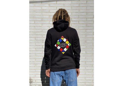 Curb Curb Mosaic Youth Hood Black