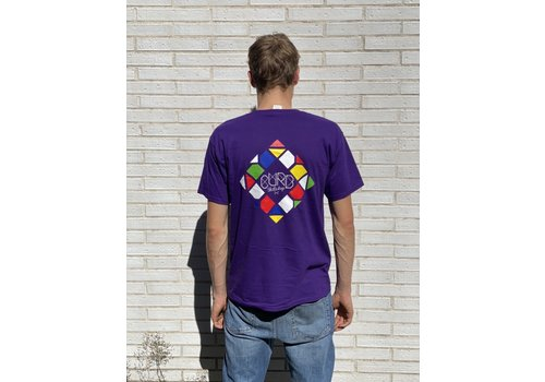 Curb Curb Mosaic Youth Tee Purple