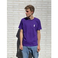 Curb Mosaic Youth Tee Purple