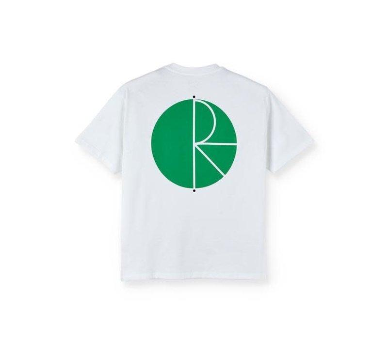 Polar Fill Logo Tee White/Green