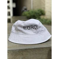 Curb Race Logo Bucket Hat Navy/White L/XL - Reversible