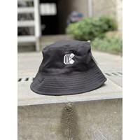 Curb Bucket Hat Grey/Black S/M Reversible
