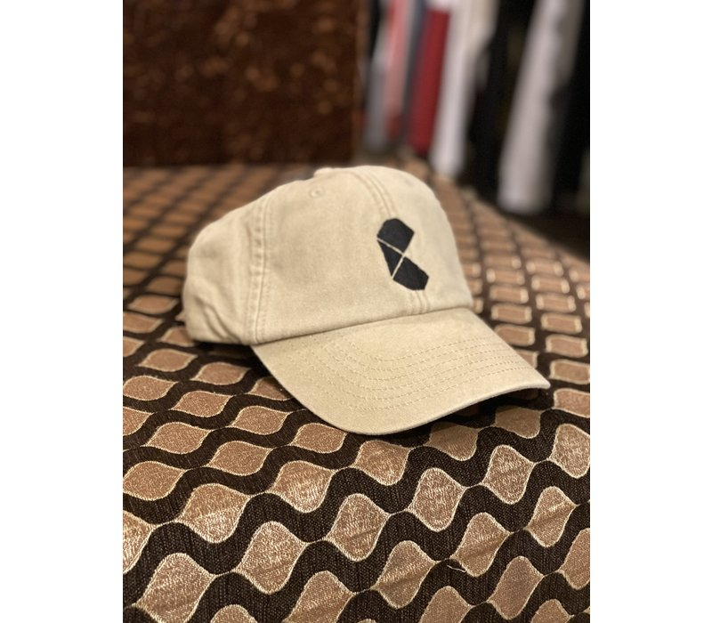 Curb Pac Logo Vintage Khaki Cap