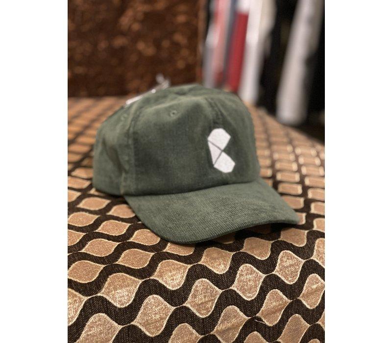 Curb Pac Logo Corduroy Green Cap