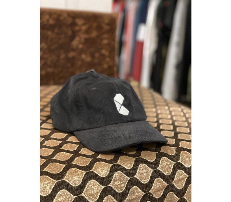 Curb Pac Logo Corduroy Black Cap