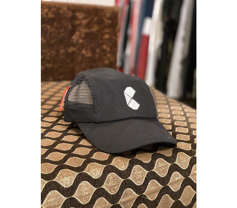 Curb Pac Logo Mesh Cap Black
