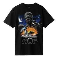 Huf Godzilla Tour Tee Black