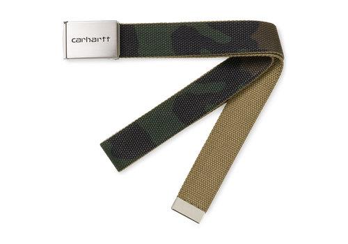 Carhartt Clip Belt Chrome Camo Laurel