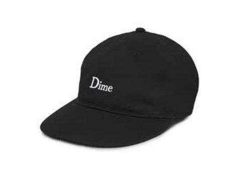 Dime Dime Classic Logo Cap Black