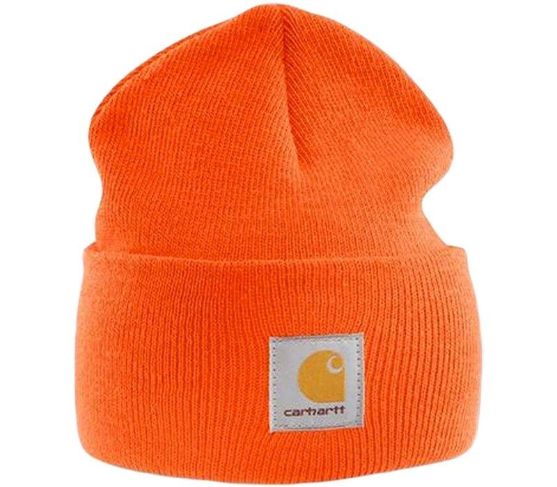 Carhartt Acrylic Watch Hat Safety Orange